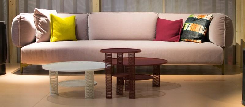 Moroso (Love Me) Tender Sofa with Moroso Net Tables