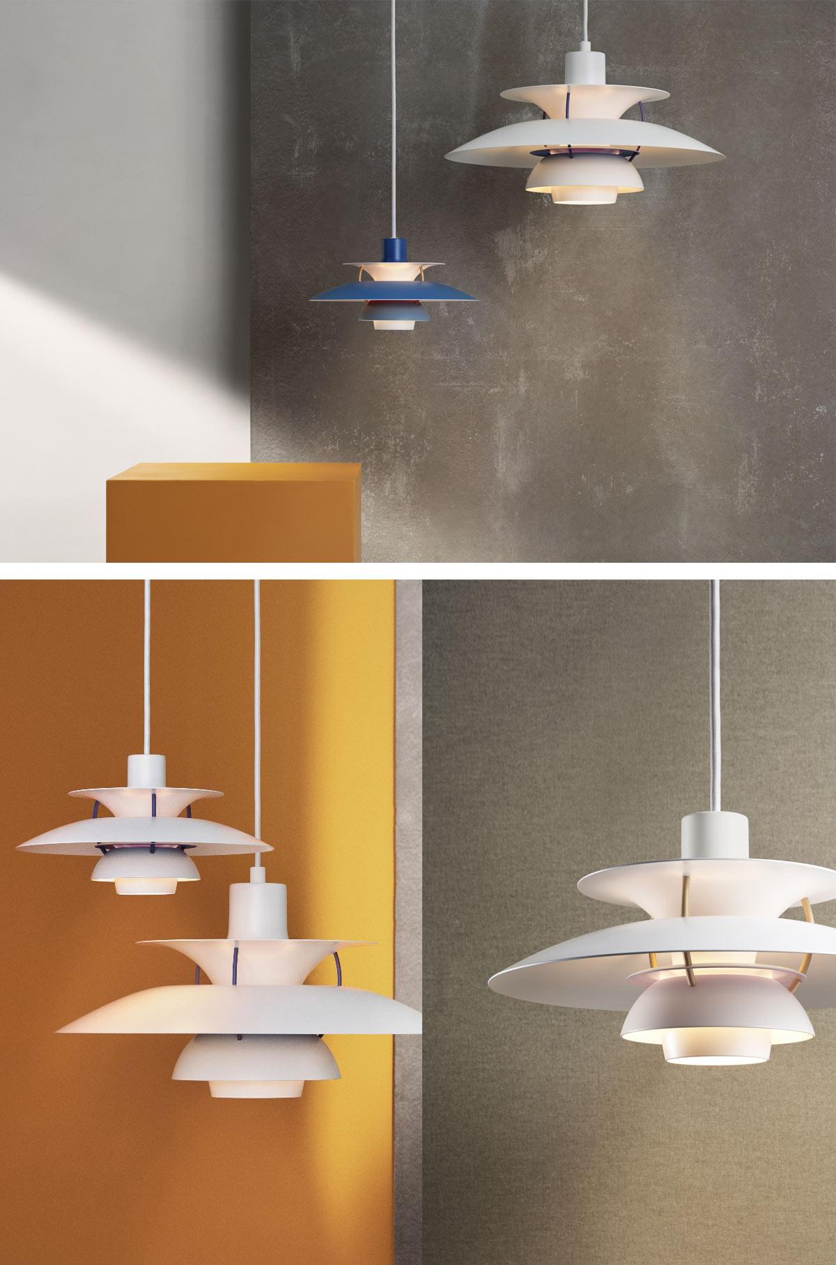 Louis Poulsen PH 5 Mini Pendant Lights