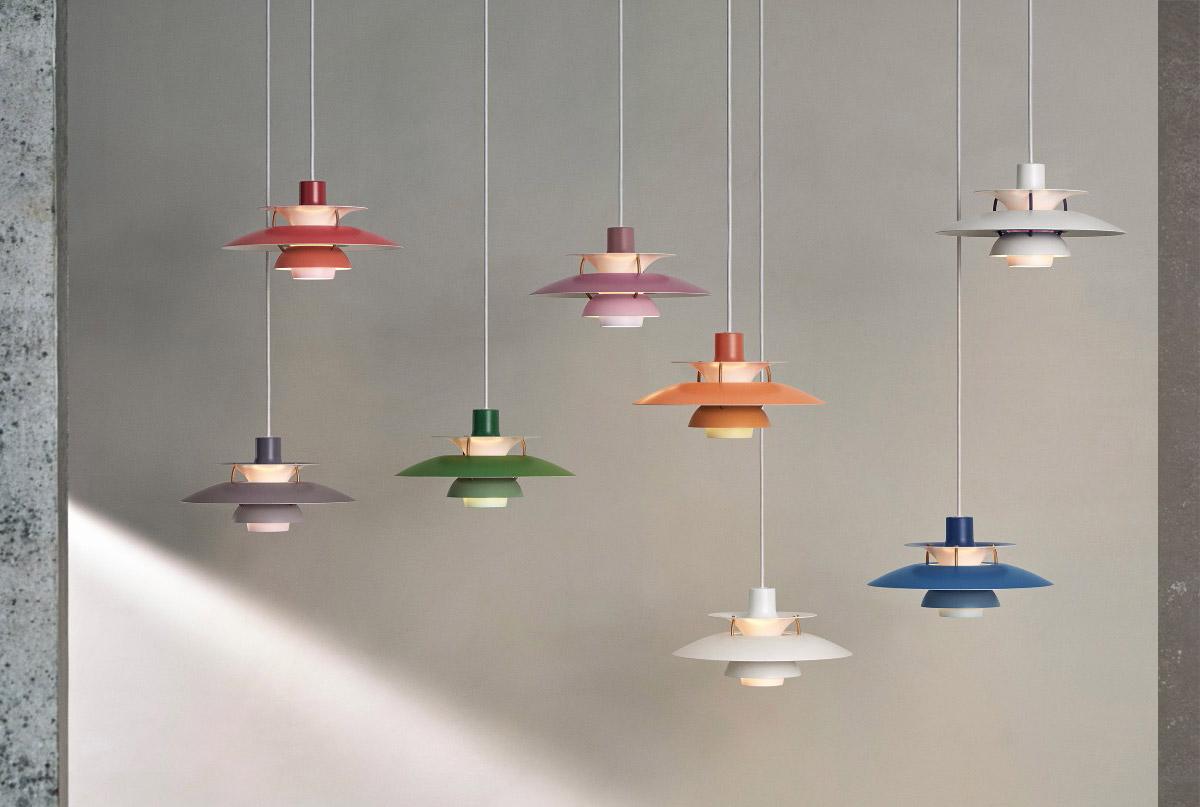 Louis Poulsen PH 5 Mini Pendant Light collection