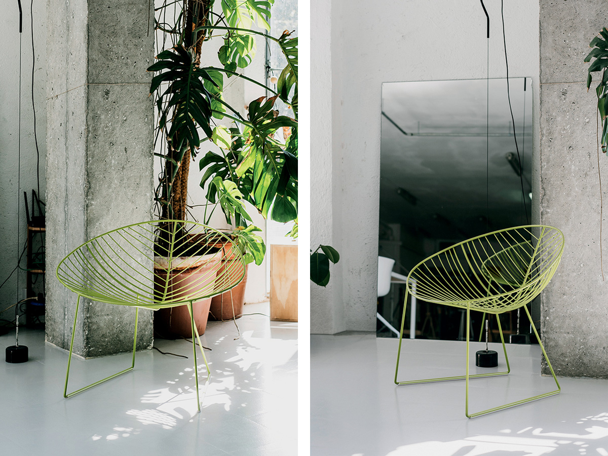 Arper Leaf Outdoor Lounge Chair