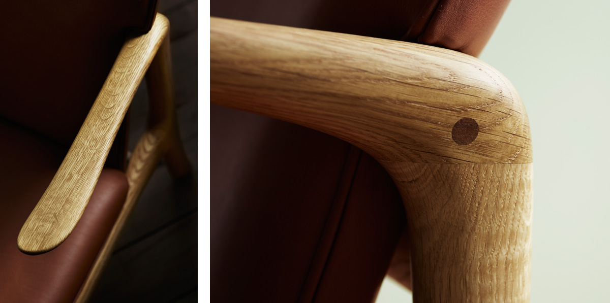 The Carl Hansen OW 124 Beak Chair