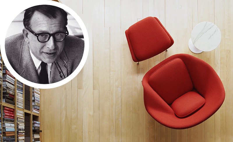 Eero Saarinen and the Knoll Womb Chair