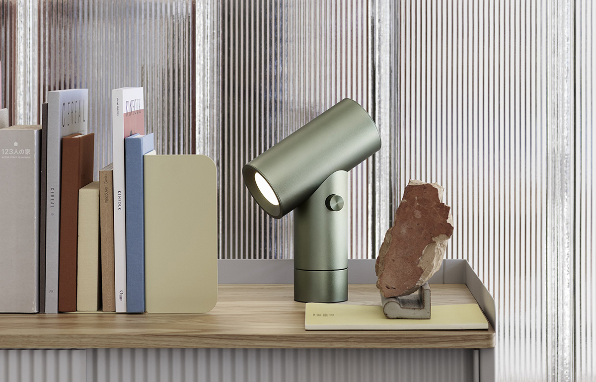 Muuto Beam Table Lamp in Umber