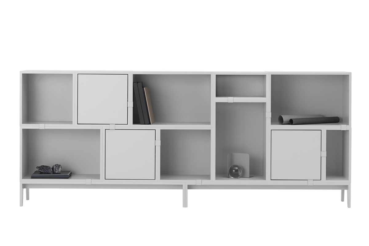 Muuto Stacked Shelving System Option 7