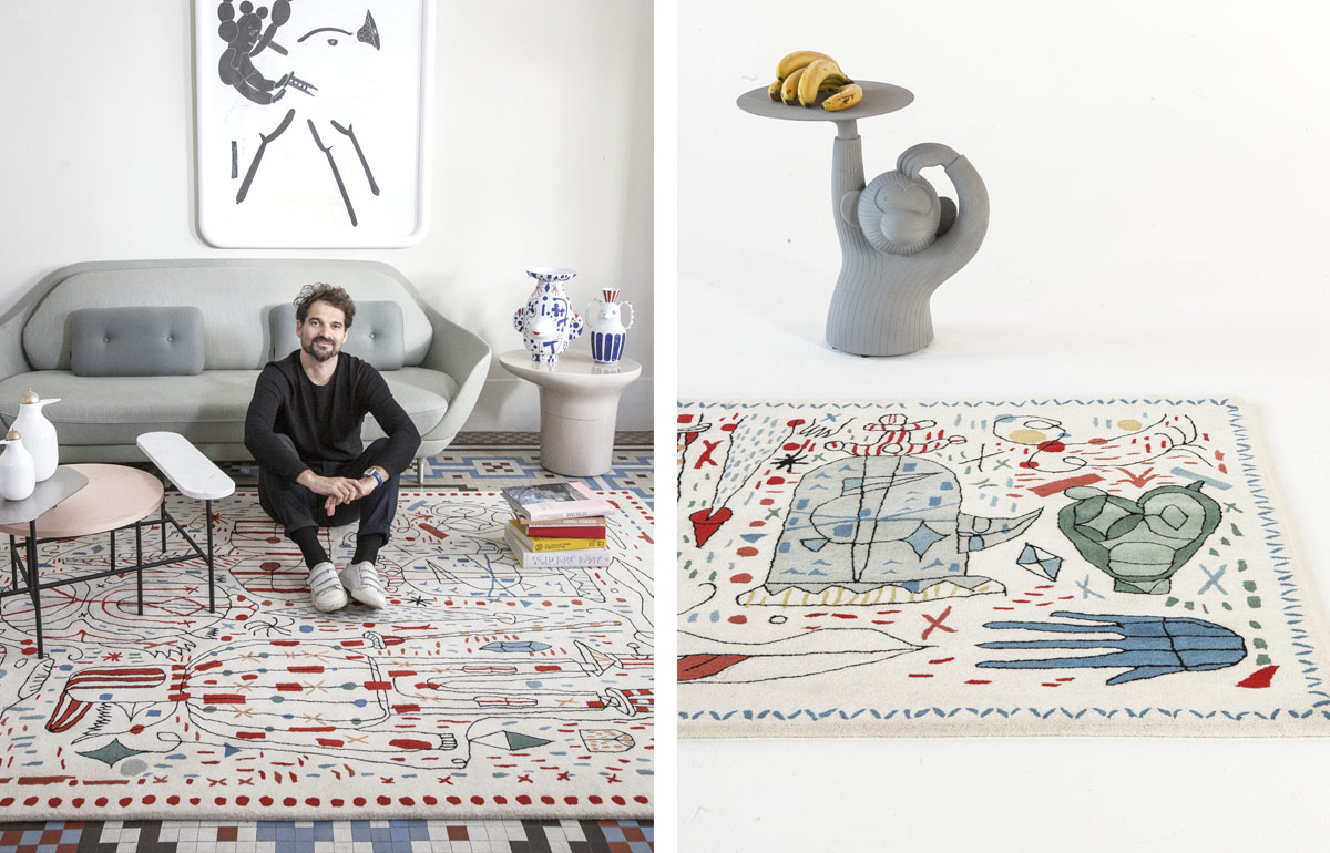 Celebrating 30 years of luxury rug design with Nani - Jaime Hayon - Nani X Hayon Rug