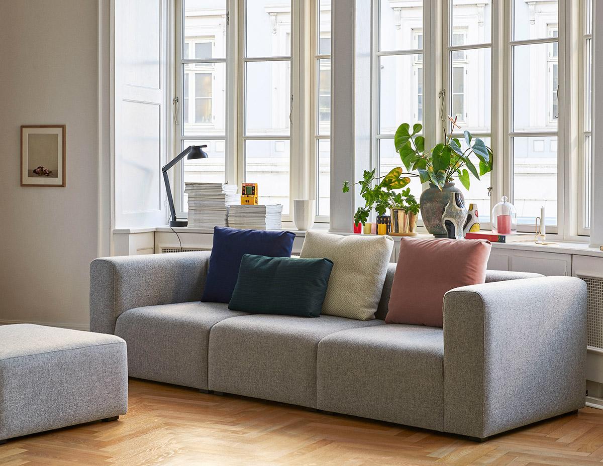HAY Mags Modular Sofa in Hallingdal 130 fabric