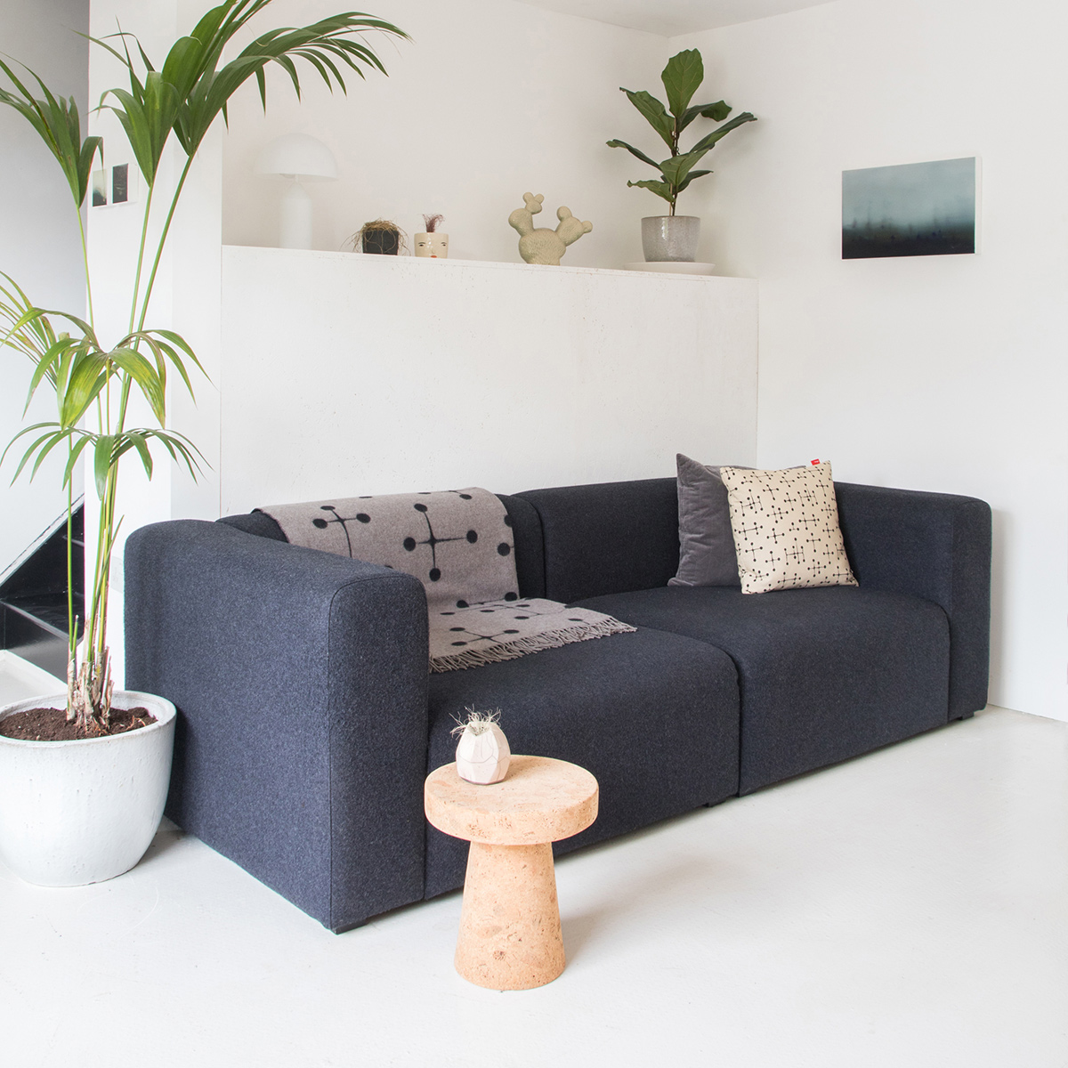 Dark Grey HAY Mags 2.5 Seater Sofa
