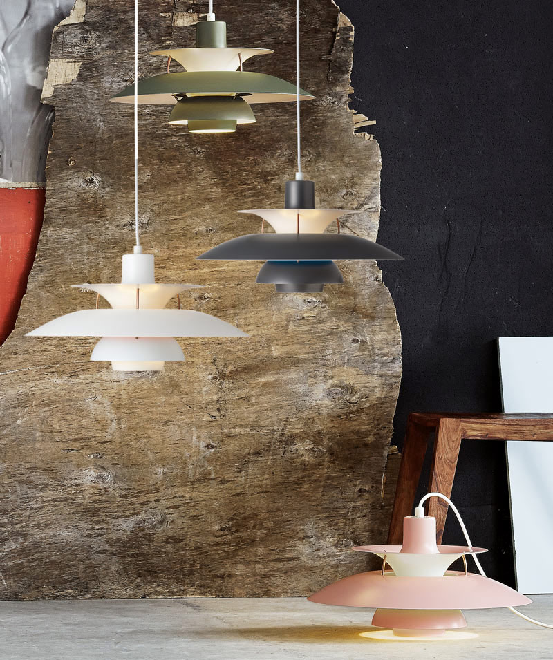 Louis Poulsen PH 5 Pendant Light in contemporary colours.jpg