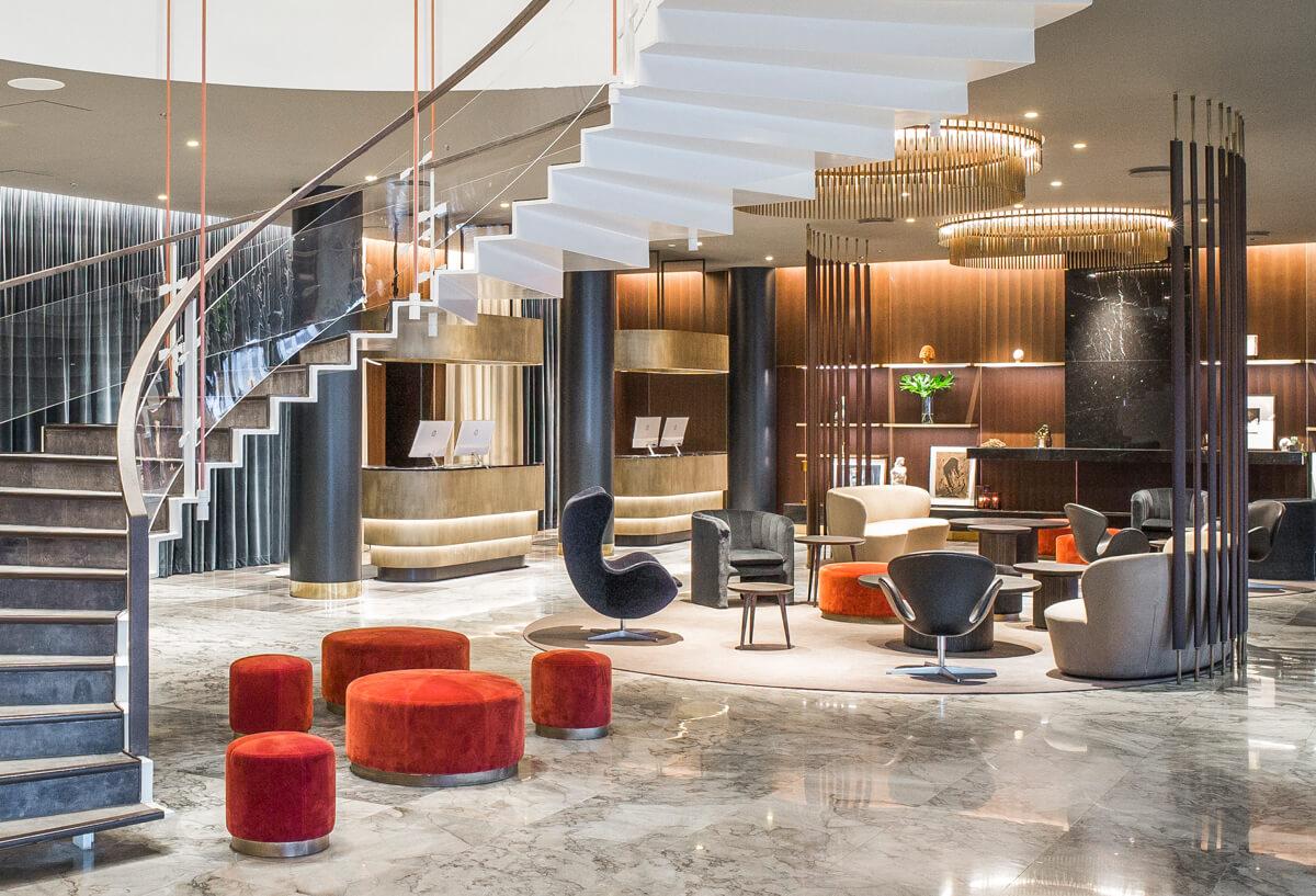 Radisson Collection Royal Hotel Foyer