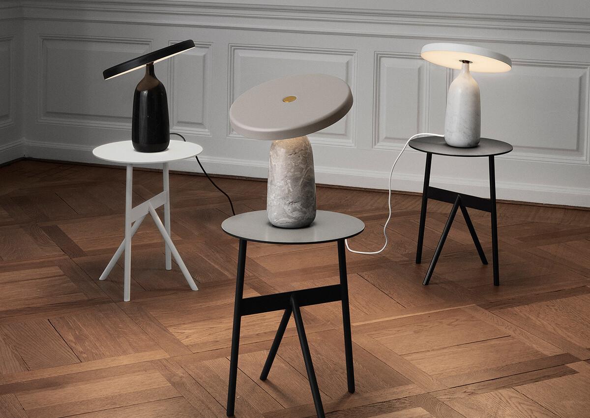 Group of Normann Copenhagen Eddy Table Lamps