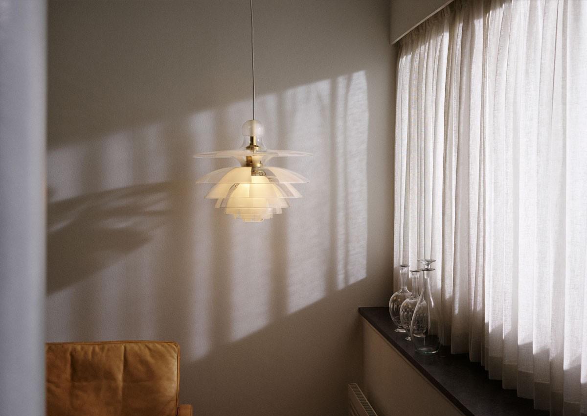 Louis Poulsen PH Septima Pendant Light by a window