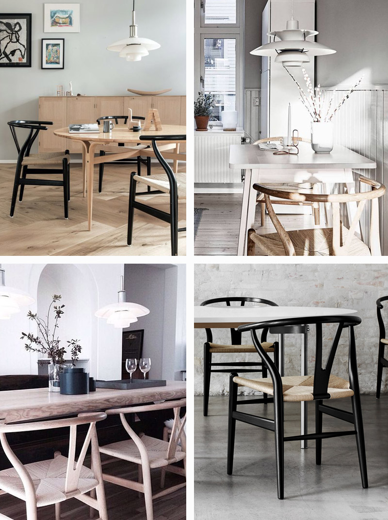 5 ways to style Louis Poulsen – Carl Hansen Wishbone Chair.jpg