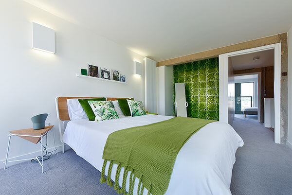 Urban Jungle style Bedroom at Park Hill, Sheffield