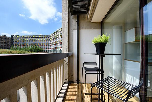 Balcony at Park Hill, Sheffield