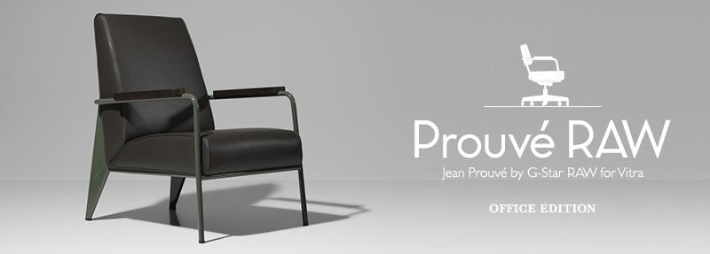 Prouve RAW Office Edition Fauteuil de Salon