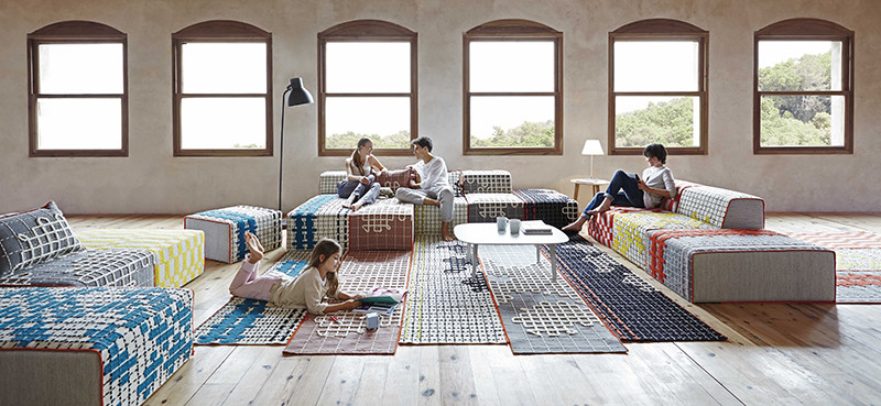 GAN Bandas Rug Collection
