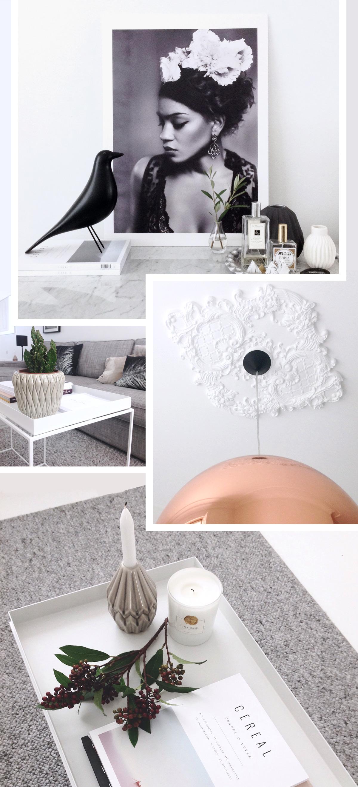 Inside Your Homes - SUSANA-OLIVEIRA- Tom Dixon Copper Round Pendant, Vitra Eames House Bird,  Hay Tray Table.jpg