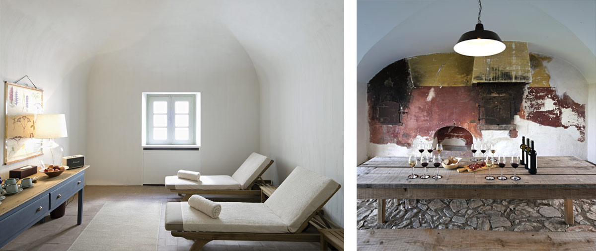 The spa and wine tasting rooms located in the restored farmhouse spaces.jpg