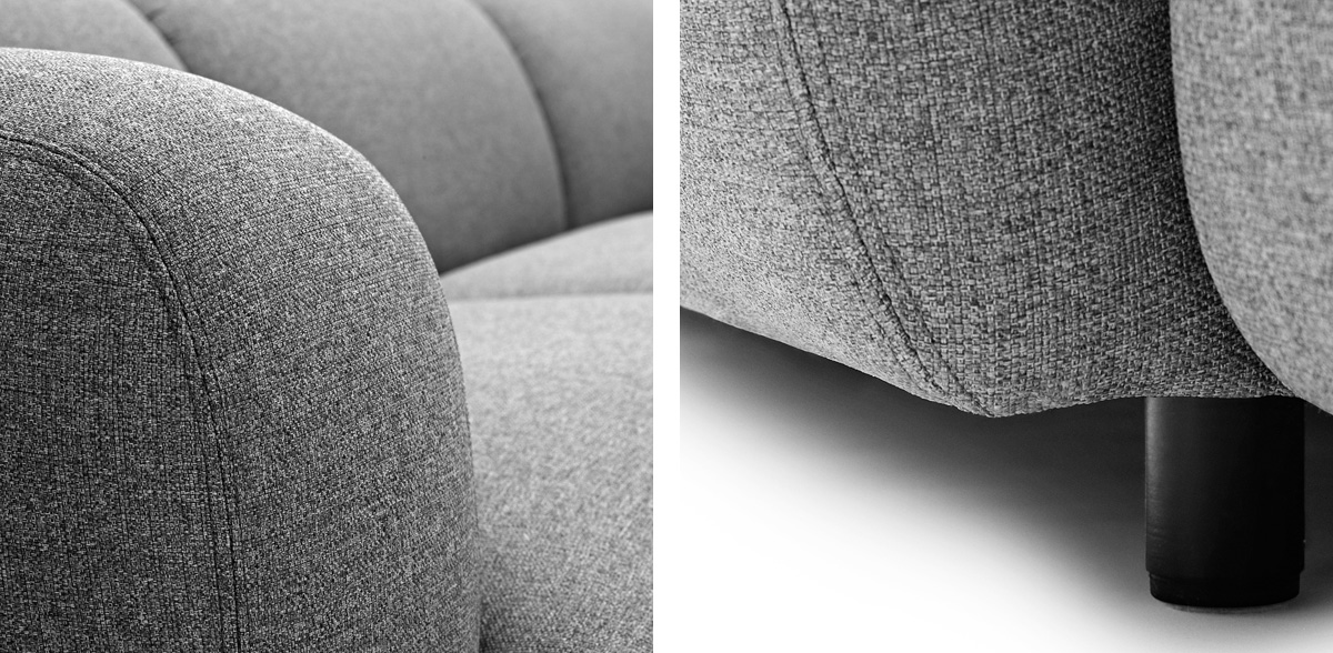 Normann Copenhagen Swell Sofa fabric details