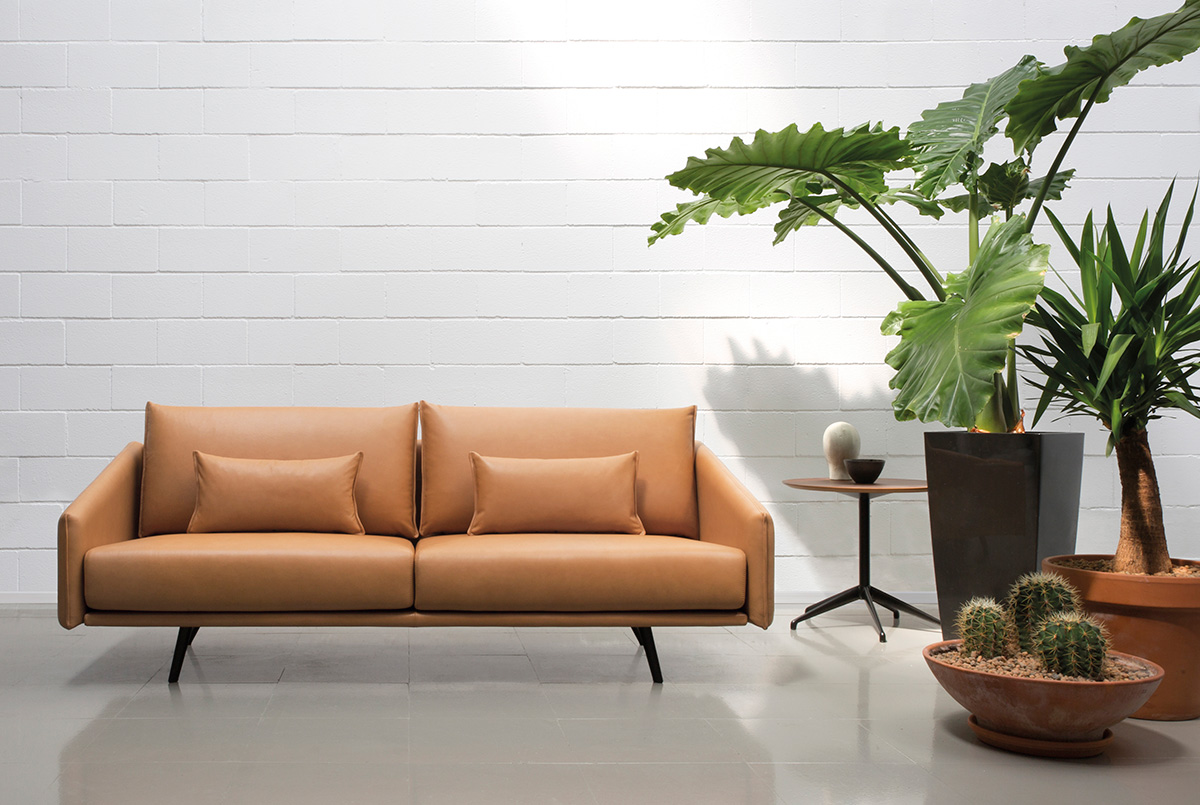 STUA Costura Two Seater Sofa Leather