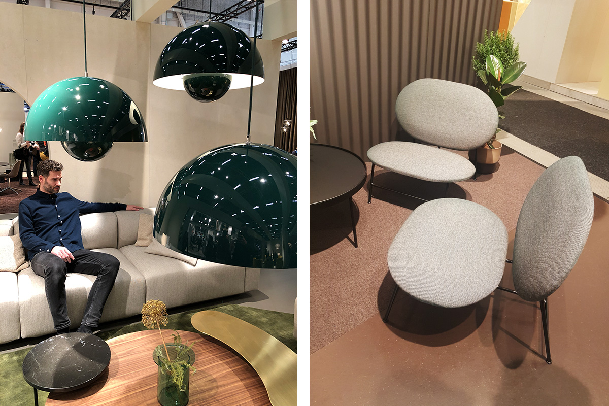 &Tradition stand at Stockholm Design Week 2019 Furniture Fair