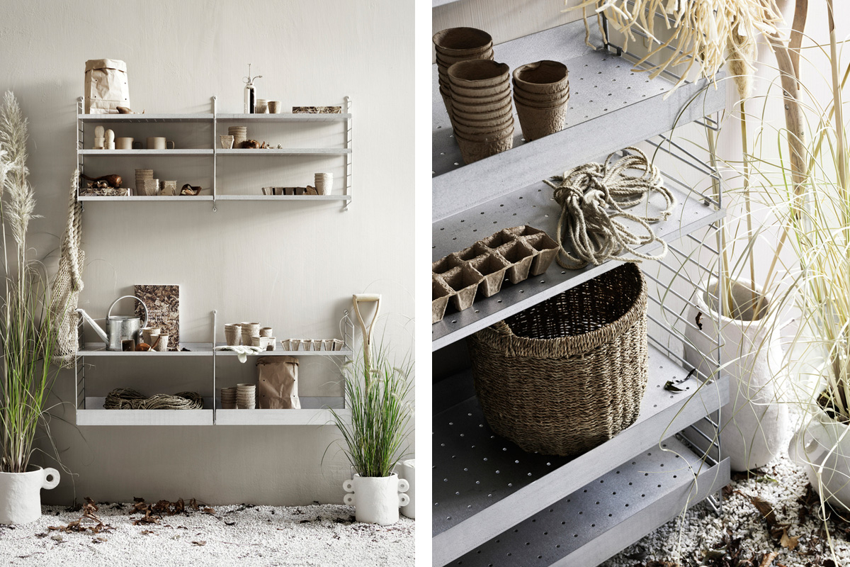 String Outdoor Shelving System