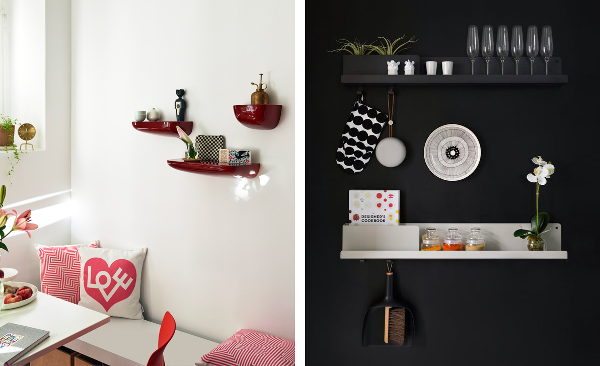 Vitra Corniches in red pairs with Muuto Folded Shelf.jpg