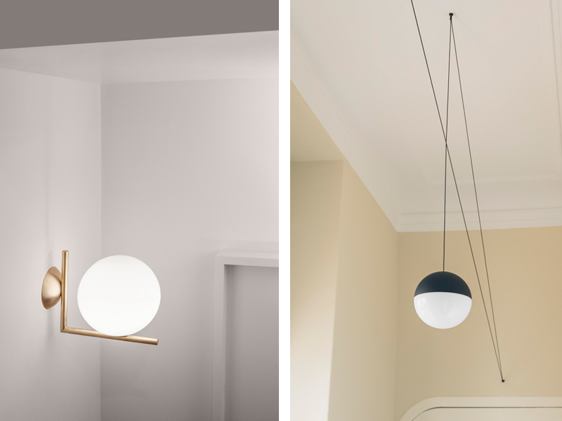 The Flos IC and String-Lights by Michael Anastassiades