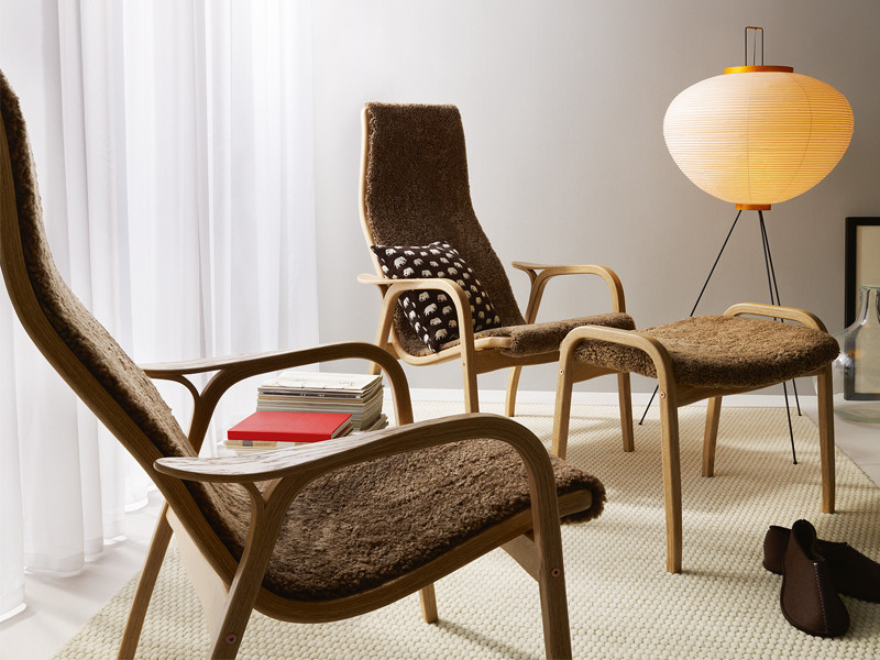 The Swedese Lamino Easy Chair