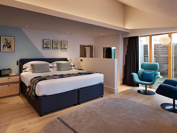 Luxury Bedroom at The Zetter Hotel