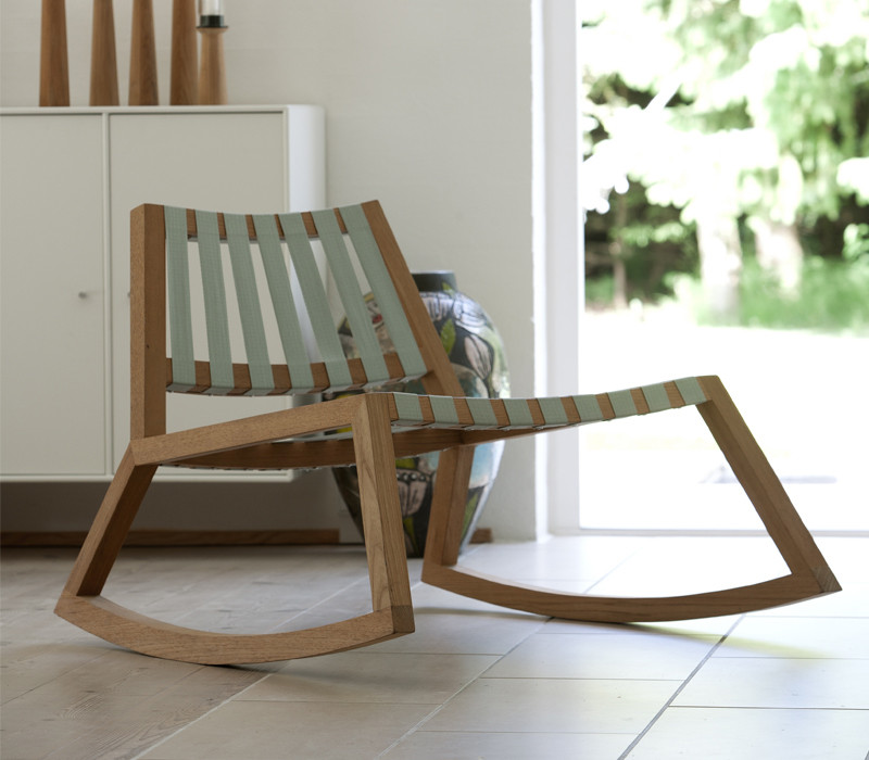 The beautiful Skagerak Sway Rocking Chair