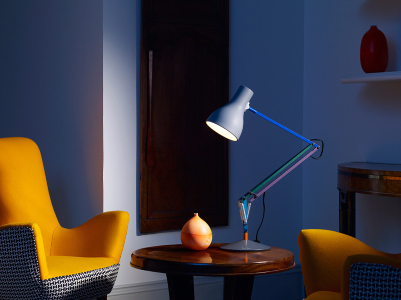 The much anticipated Anglepoise Paul Smith Edition Two Type75 Desk Lamp