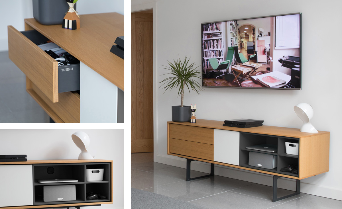 Treku Aura TV and Media Unit – Top 10 Sideboards