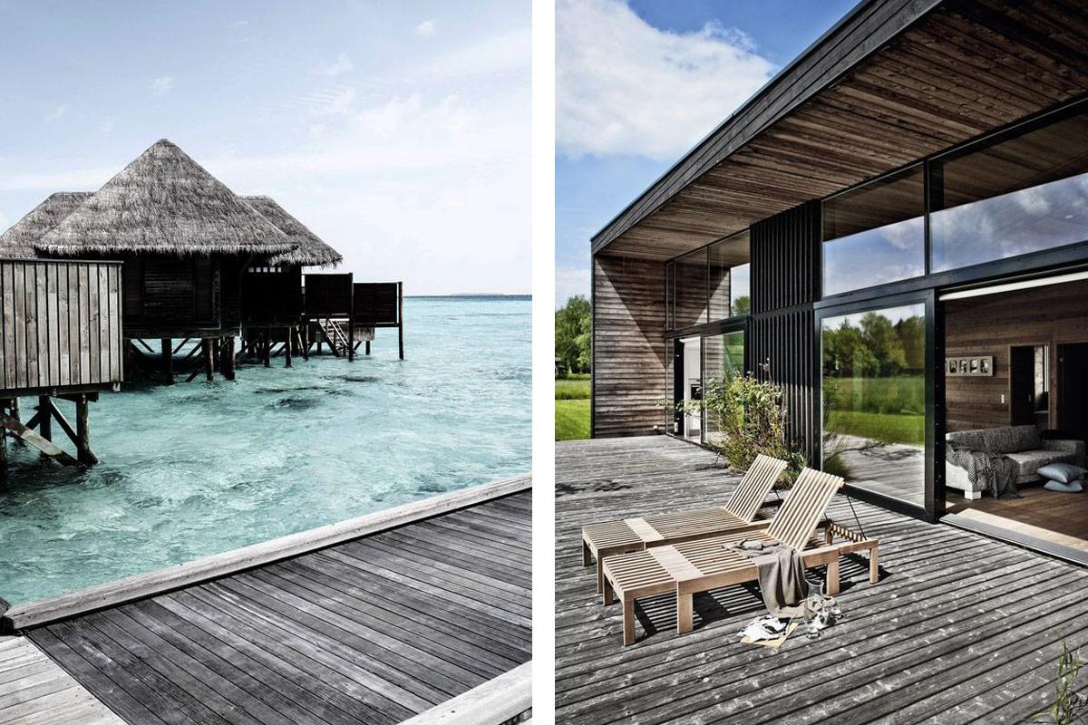 Caribbean Life Beach Huts and Skagerak Riviera Sun Lounger