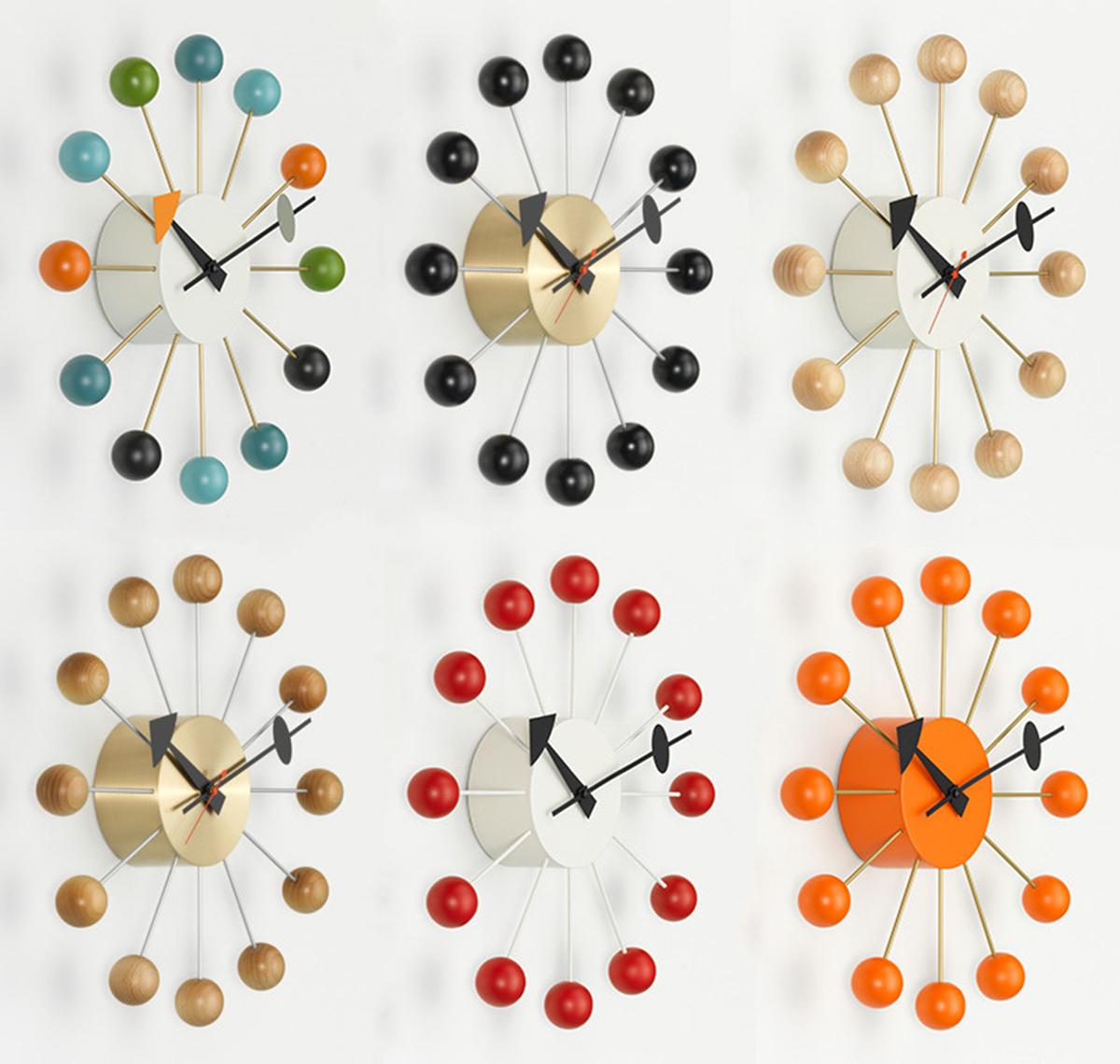 Vitra ball clock full collection