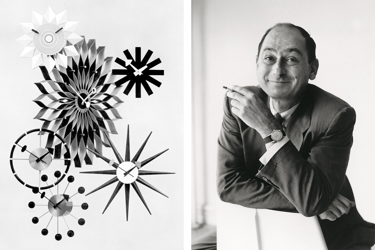 George Nelson and his iconic clock designs