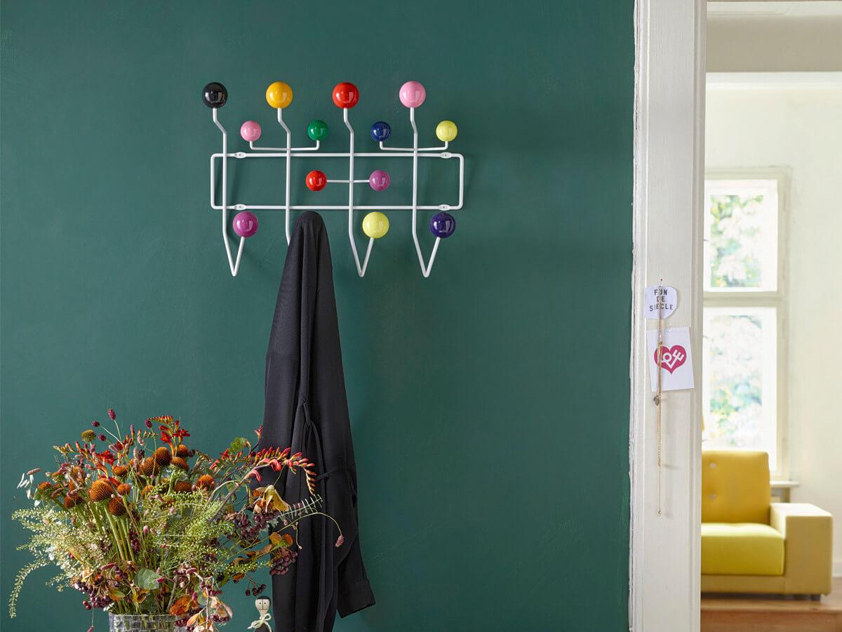 Vitra Eames Hang It All Coat Rack multicoloured