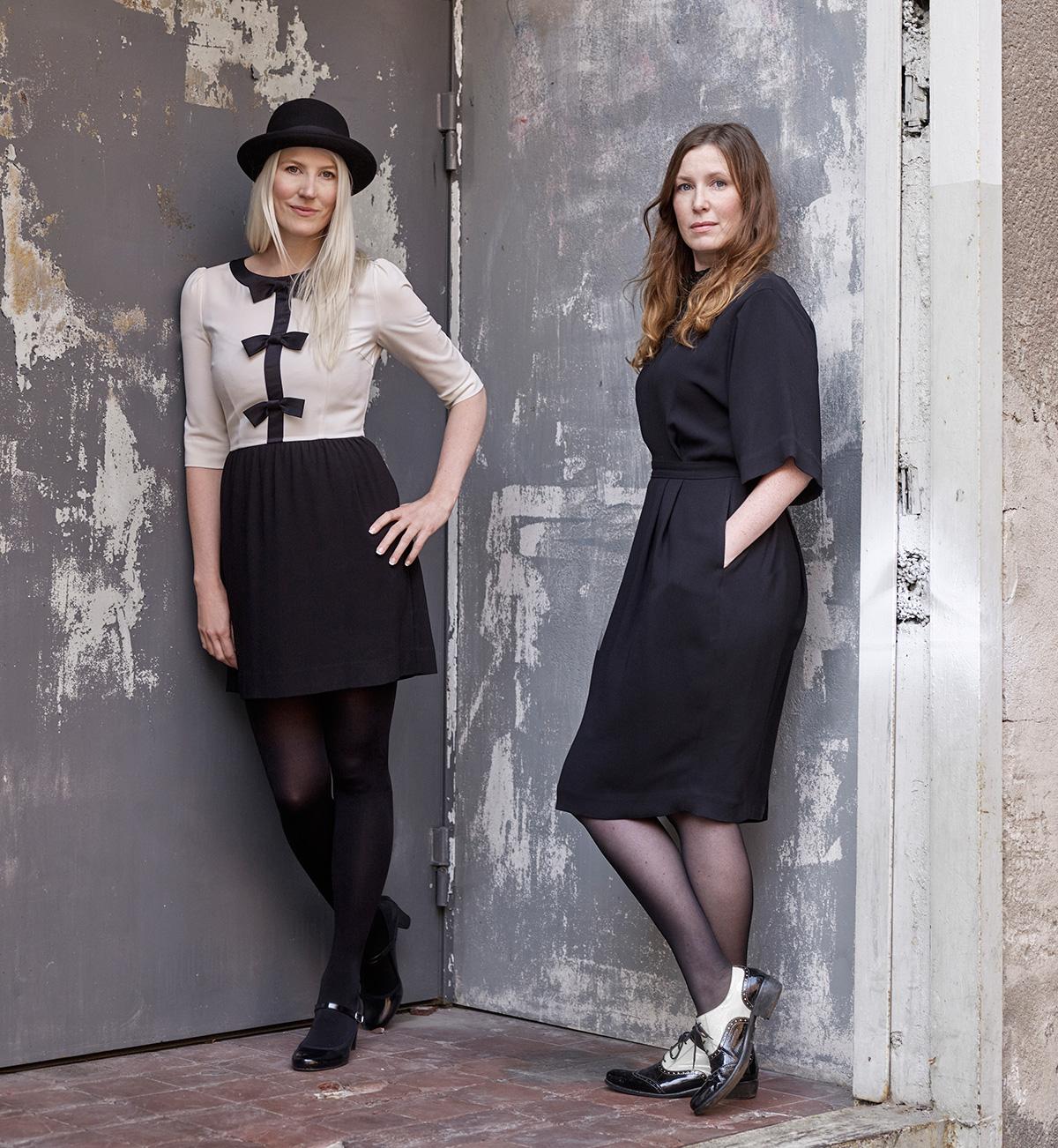 Portrait of designers Sofia Lagerkvist and Anna Lindgren of Front
