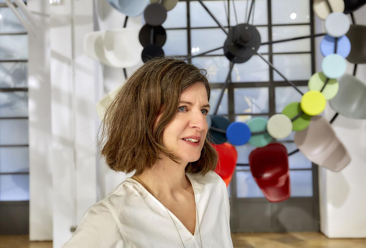 Portrait of Dutch designer Hella Jongerius