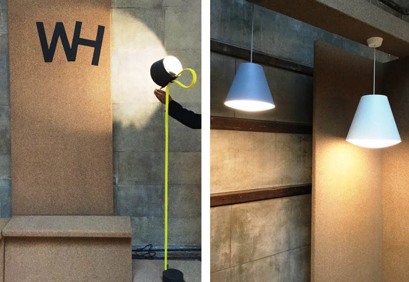 Wrong for Hay Rope Trick Floor Lamp and Wrong for Hay Sinker Pendant Light