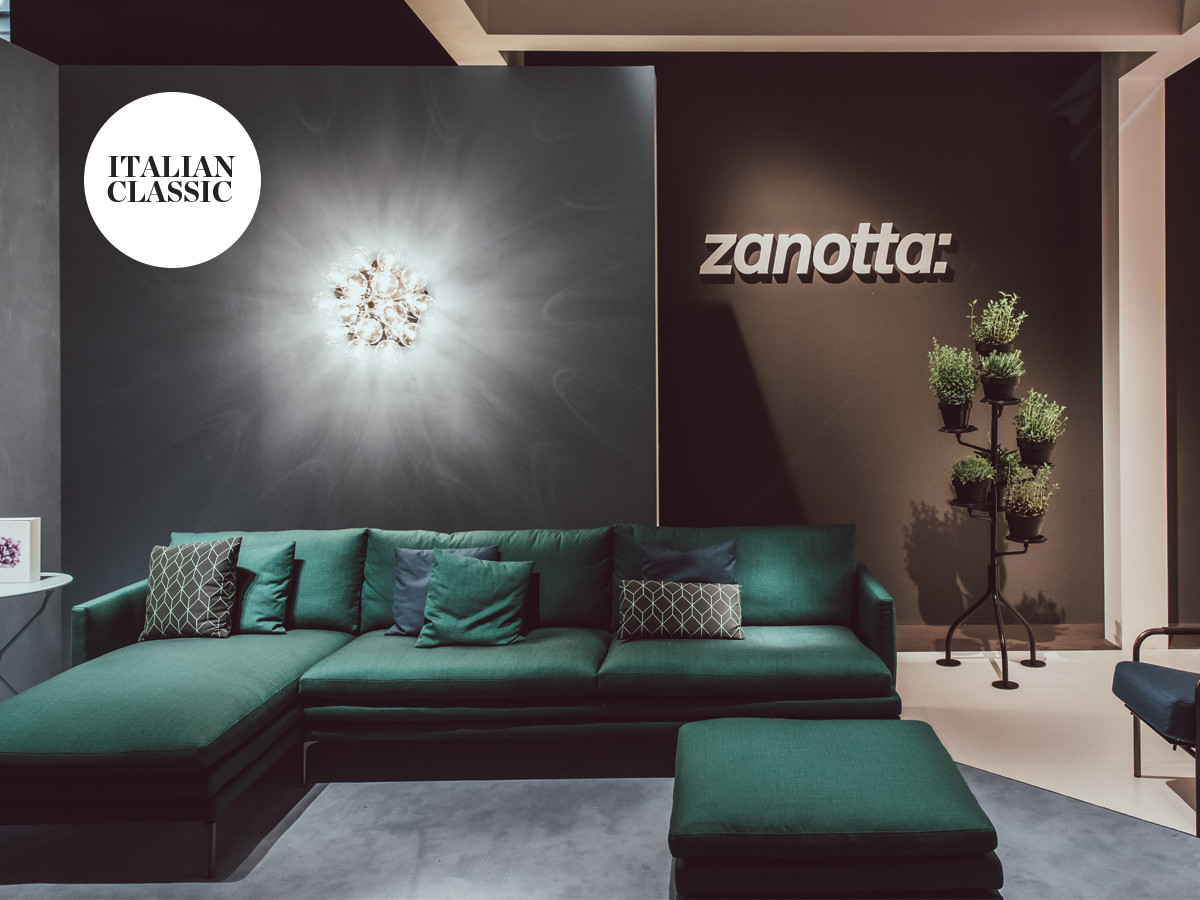Milan Design Week 2018 - Italian Classic - Zanotta William Sofa.jpg