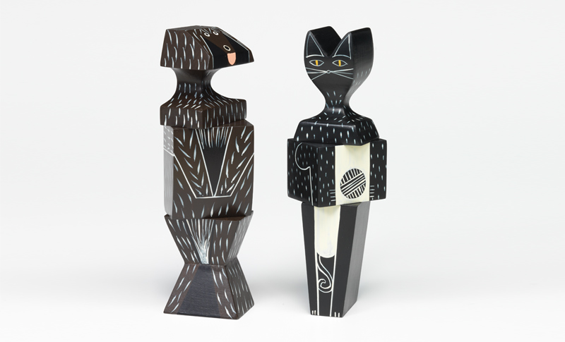 What Kind of Gift Giver are you? Alternative Gifts – Vitra Wooden Doll Cat & Dog Large.jpg