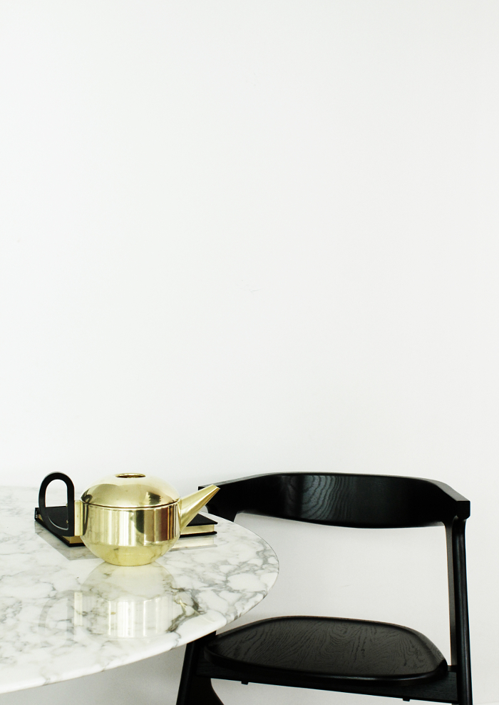 Tom Dixon Form Teapot, Tom Dixon Slab Chair
