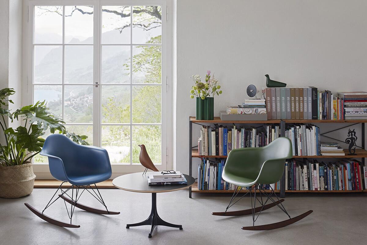 The Eames RAR Rocking Chair in 2 new colours