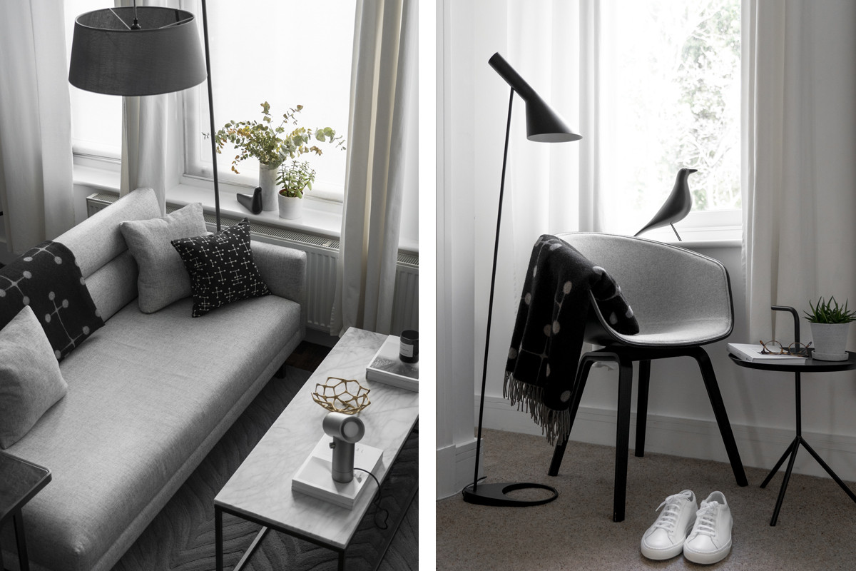 In conversation: Tsun Yuen - Mindful Minimalism - Vitra Eames Dot Cushion & Wool Blanket & Muuto Beam Table Lamp.jpg