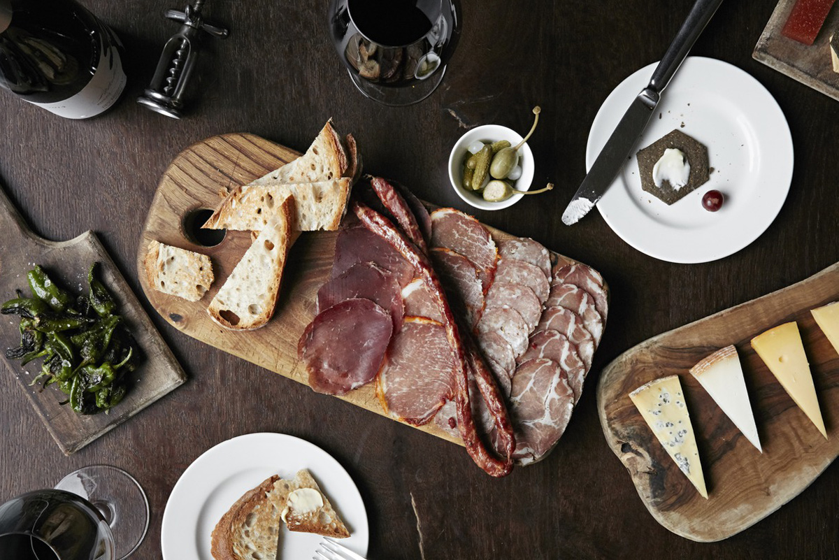 Meats and cheese platter at the Zetter Hotel.jpg