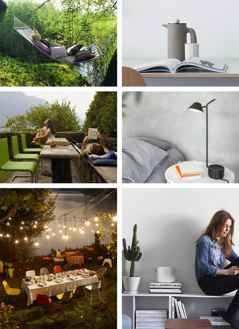 Happiness, design and the little things – Muuto Push Coffee Maker, Menu Peek Table Lamp, Vitra Classic Pillow Quatrefoil Pink, Vitra Outdoor Furniture, Vifa Helsinki Bluetooth Speaker.jpg