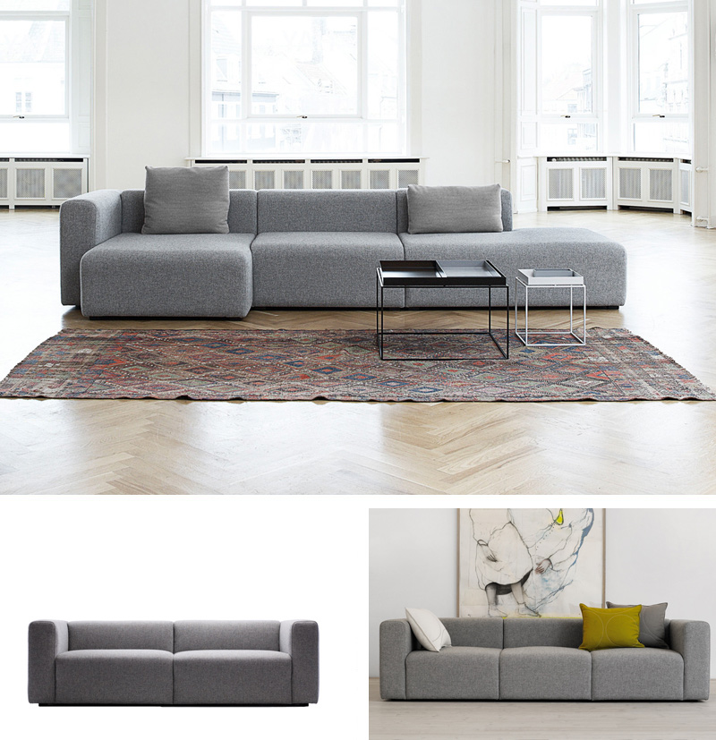 design icon product focus hay mags sofa. Black Bedroom Furniture Sets. Home Design Ideas