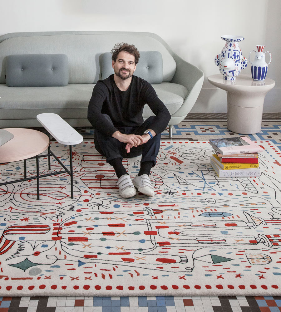 Jamie Hayon x nanimarquina contemporary rug collection