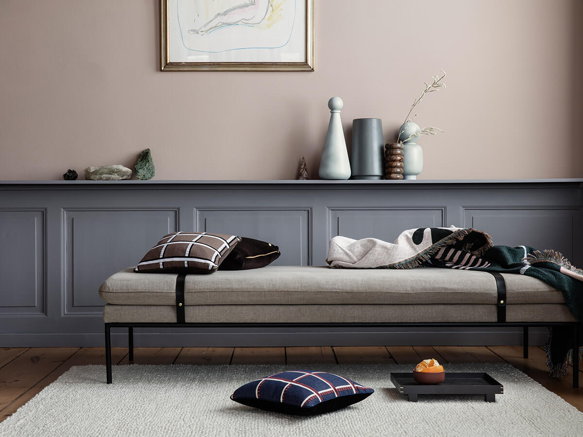 Ferm Living Turn Daybed in Cotton Linen